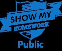 Show My Homework Public